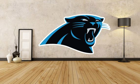 Carolina Panthers Fathead Style Wall Decal FREE SHIPPING: Packers Cowboys Patriots Broncos Seahawks Saints Steelers Dolphins Raiders Colts