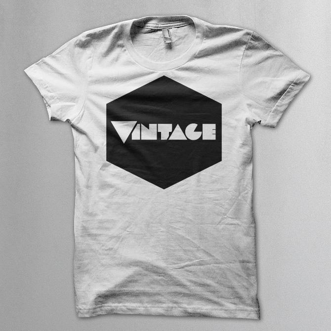 Geometric vintage t shirt - Vintageness Collection - Vintage t shirts www.vintage.it