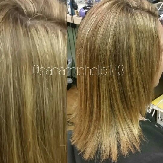 Sometimes all blonde hair needs is a highlighted root touch up and sometimes all blonde hair needs is a highlighted root touch up and a trim crazy what a difference only touching the outgrowth area can do pmusecretfo Gallery
