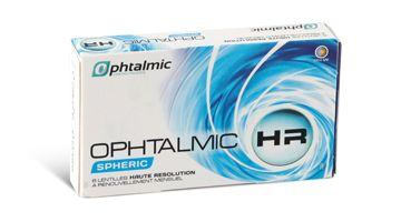 Lentilles de contact mensuelles Ophtalmic HR Spheric Boîte de 6 lentilles