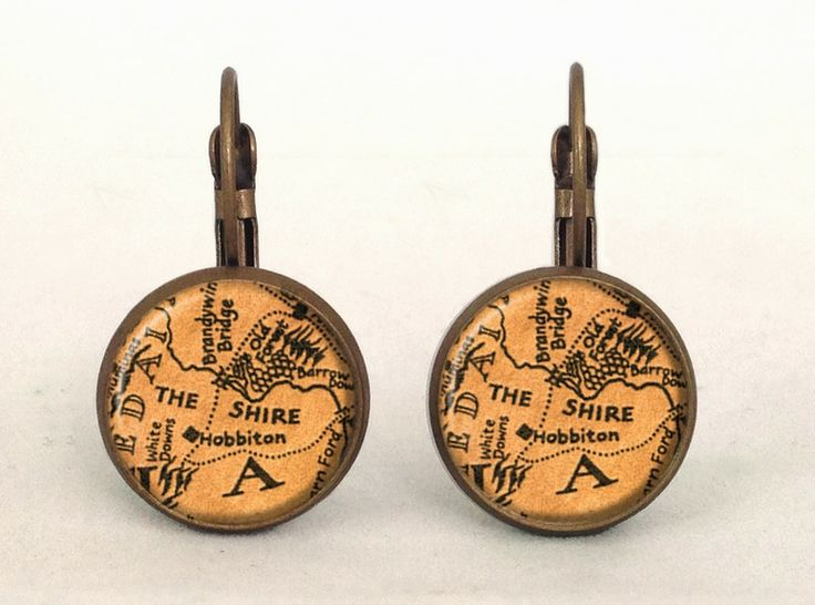 LOTR Earrings, 0185ERB from EgginEgg by DaWanda.com