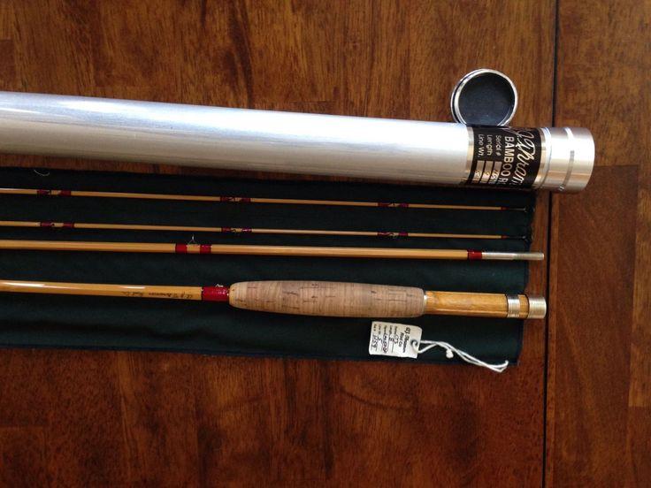 Leonard 50DF Bamboo Fly Rod by AJ Thramer | eBay