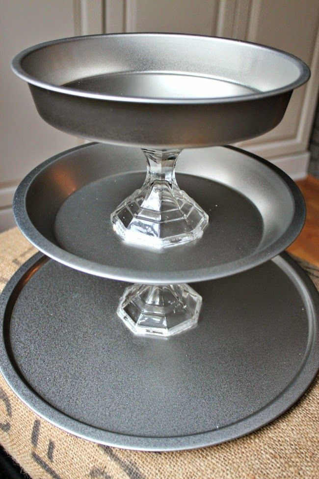 {DIY} Dollar Tree Three Tier Tray Tutorial - Southern State of Mind