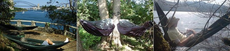 Travel Hammock / Bivi - DD Hammocks    Waterproof bottom, can be used as bivi!  Tarp sold separately.  Hang low to ground & pull tarp as close to the floor as possible to eliminate breeze under hammock.  Can use leaf litter in binbags as extra insulation/padding in between bottom layers!