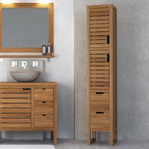 Шкафы и стеллажи, которые поместятся в маленькой ванной | Свежие идеи дизайна интерьеров, декора, архитектуры на InMyRoom.ru