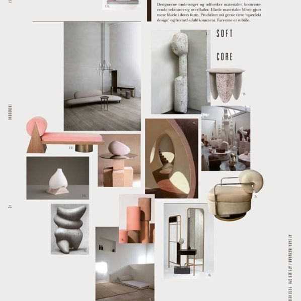 The new trend for @rum_id is all about soft shapes. We got inspired by the structure, colors and shapes of stones.