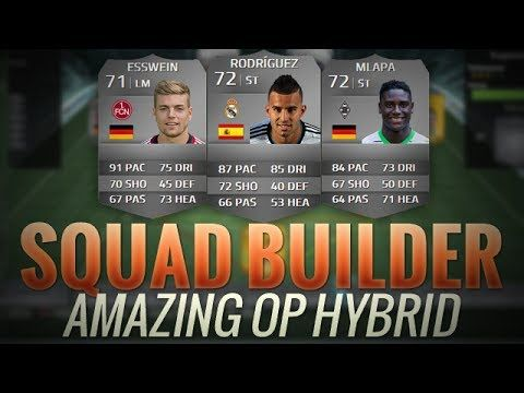 FIFA 14 UT AMAZING OP HYBRID w/ ESSWEIN JESE MLAPA   FIFA 14 MAGIC HYBRI...