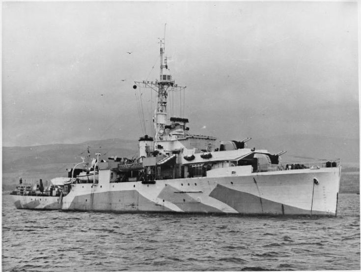 HMS Amethyst, During World War II, Amethyst was deployed mostly on anti-submarine patrols and escort duties. On 20 February 1945 she attacked and sank the U-boat U-1276 with depth charges. U-1276 had just sunk HMS Vervain, a Flower-class corvette. The action took place in the North Atlantic, south of Waterford and resulted in the loss of all 49 of the U-boat's crew.