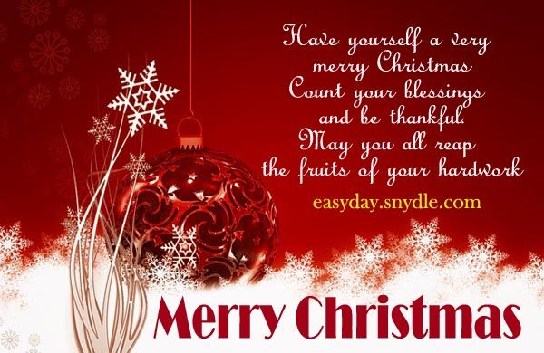 A VERY MERRY CHRISTMAS TO MY FAMILY/LOVED ONES AND FRIENDS!  MAY OUR DEAR LORD JESUS CONTINUE TO SHOWER US WITH MORE BLESSINGS.