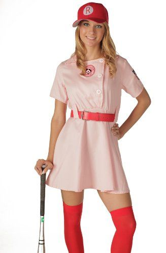 Women's Rockford Peaches Adult CostumeDeluxeS/M