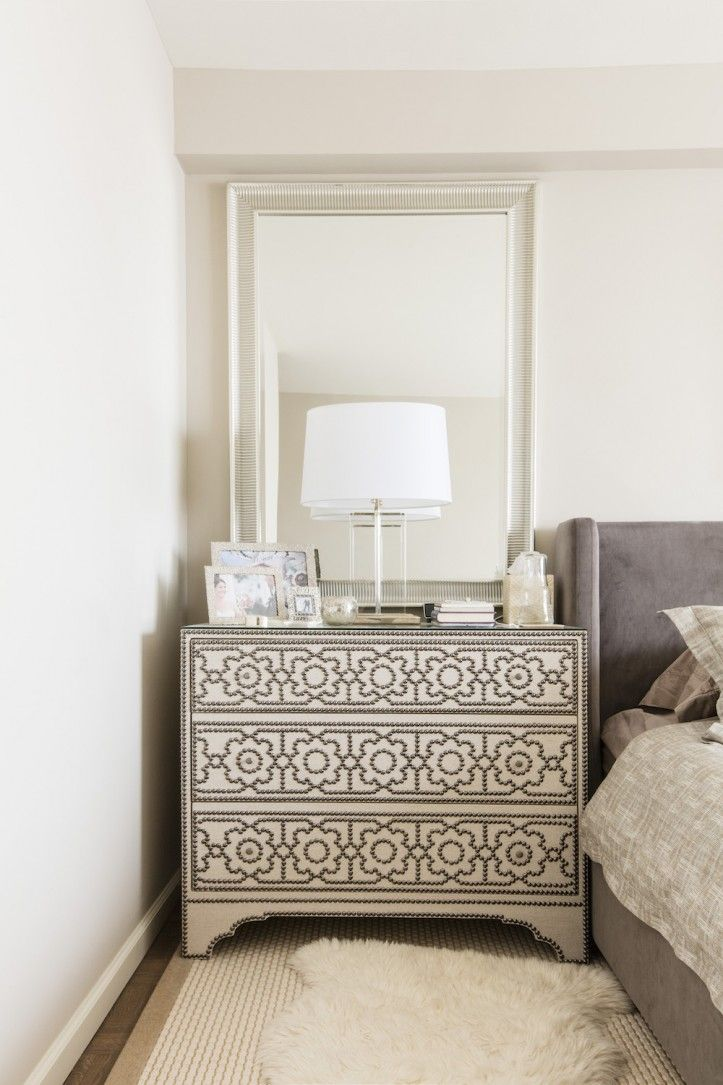 Best 25+ Mirror behind nightstand ideas on Pinterest | Bedroom lamps nz, Bedside lamps nz and ...