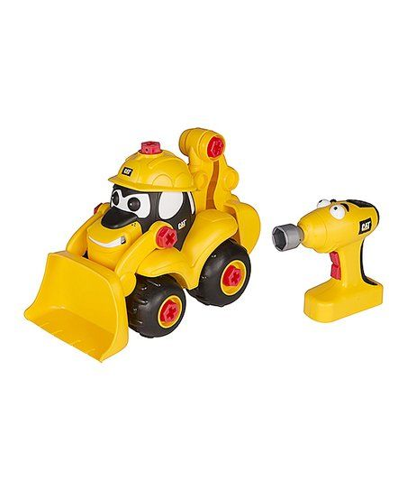 Toy State Industries LTD. Take-A-Part Buddies Backhoe Toy Set   zulily