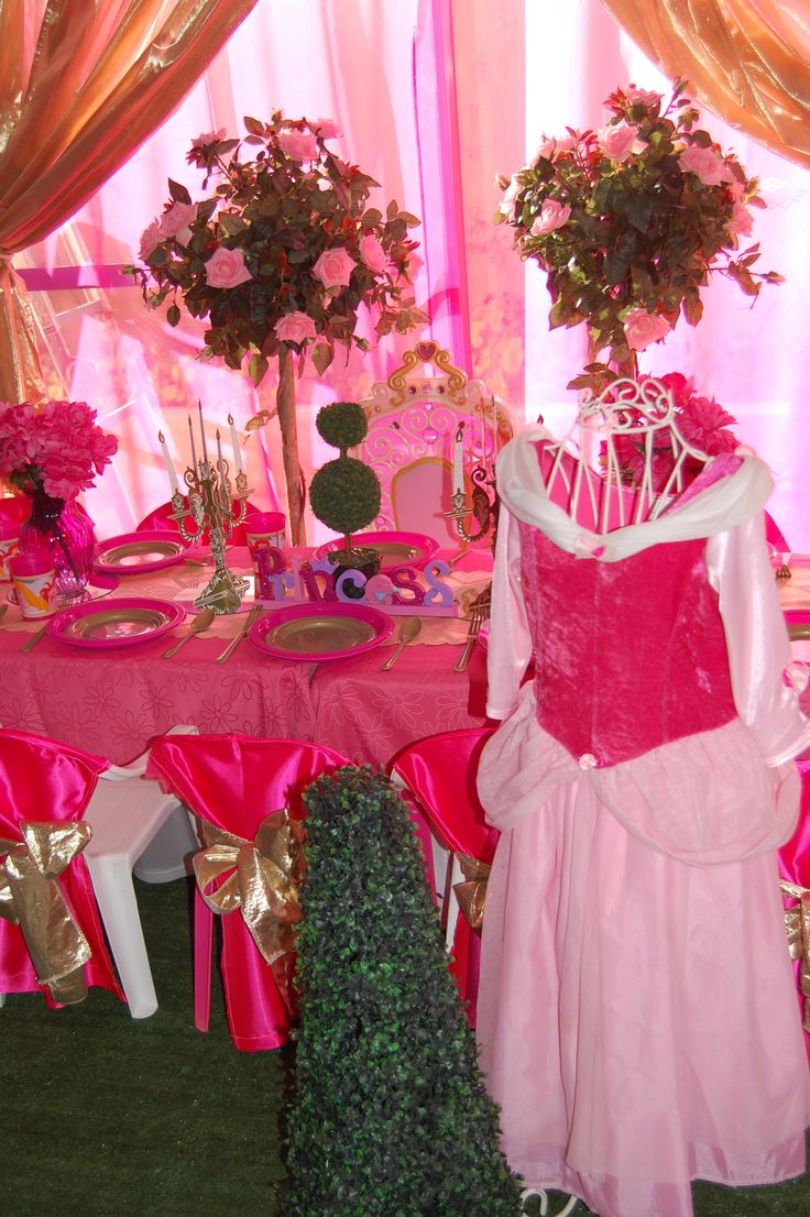 Wish Upon a Party Perth - Sleeping Beauty party hire