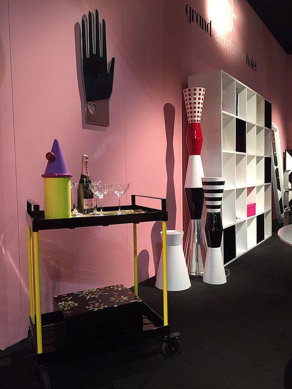#fernand cart and #cafèdelamairie jar, #design Elena Cutolo, #icona box and #guanto mirror, #design @moschinofficial  #ulus lamp, #design Marco Piva for #altreforme grand altreforme hotel #stand @iSaloni 2015  #grandaltreformehotel #altreformegoesfashion #myminisalvador #designweek#interior #home #decor #homedecor #furniture with #woweffect #aluminium