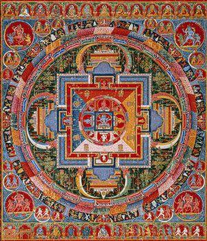 Mandala Of Jnanadakini Late 14th Century Tibet A Sakya