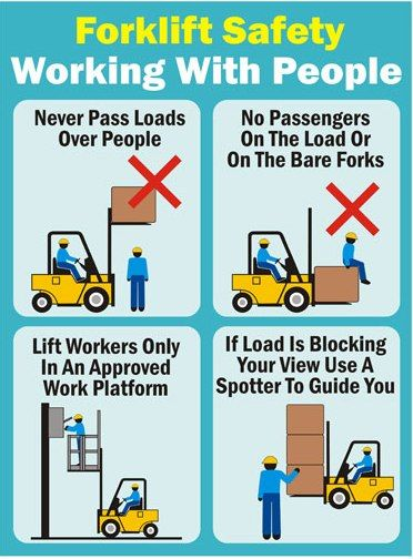 Forklift safety 8 rules for dating
