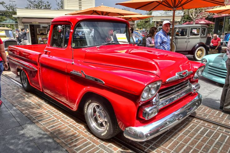 1958 Chevrolet Apache Fleetside Pickup | Flickr - Photo Sharing!