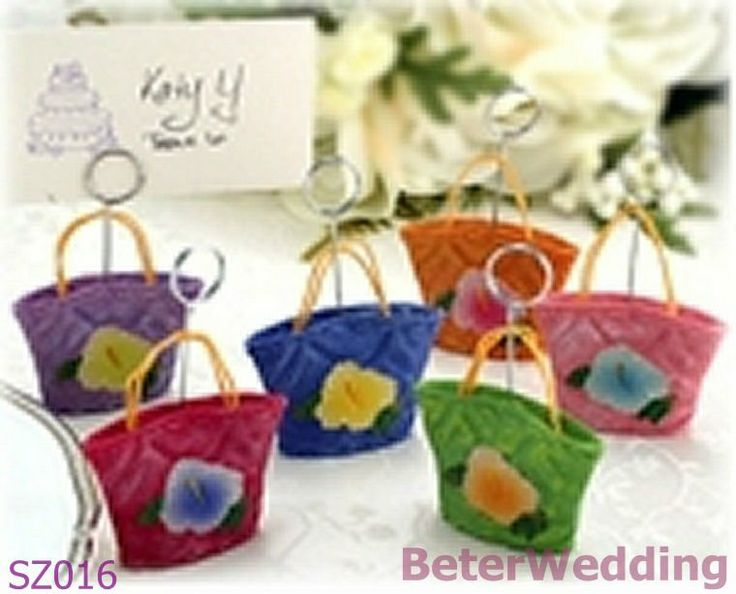 BeterWedding Wedding Gifts wholesale SZ016 Wedding Mini bags as table photo/card holder Wedding Souvenir_Wedding Favor