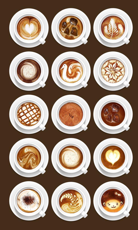 コーヒーが大好き。飲むのは基本的にブラックだけど、ラテアートは可愛くて好き。