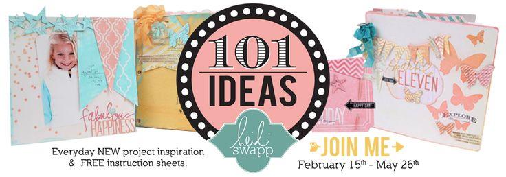 101 ideas using Heidi Swapp products