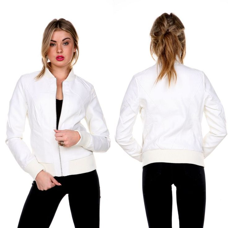 white-leather-jacket