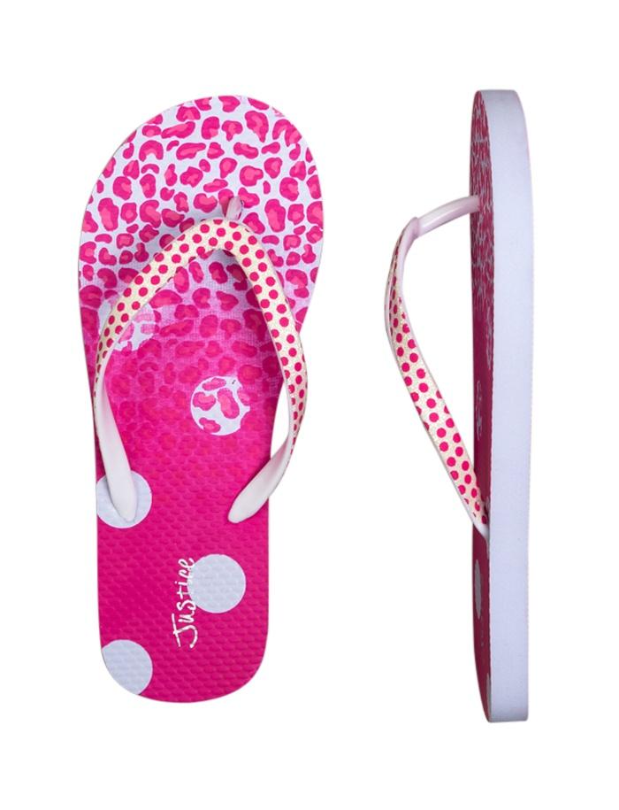 Pink Animal Dot Flip Flops   Flip Flops   Shoes   Shop Justice