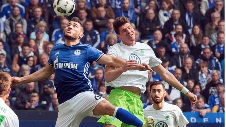 FC Schalke 04 gegen VfL Wolfsburg am 28. Bundesliga-Spieltag - Bundesliga Saison 2016/17 - Bild.de
