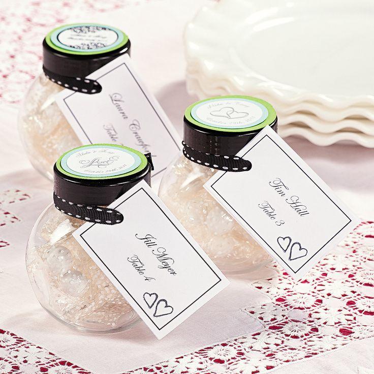 Favor Placecard Jars - OrientalTrading.com