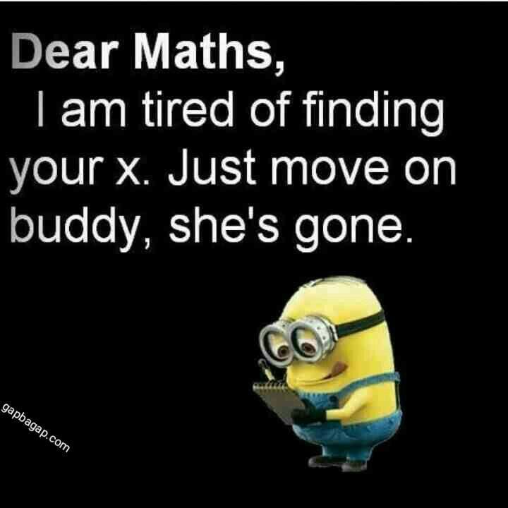 Minions vs Maths