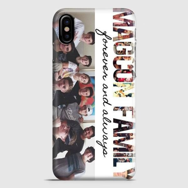 Magcon Family Cover iPhone X Case   casescraft