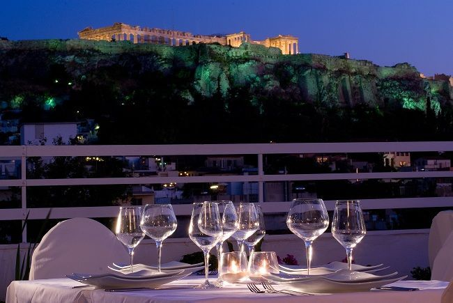 Acropolis View Restaurant in Athens