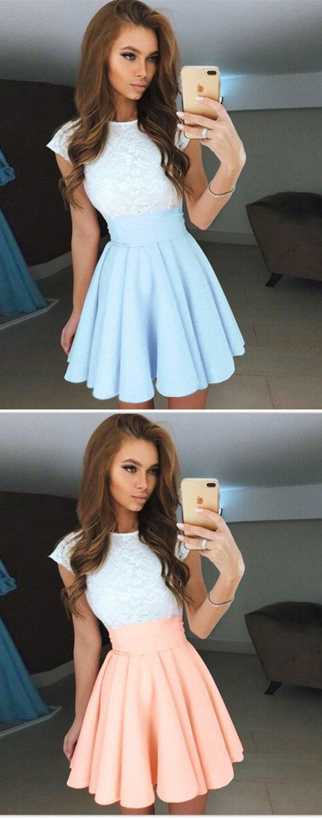 fashion, summer fashion, chic homecoming dresses. cheap a-line gowns,