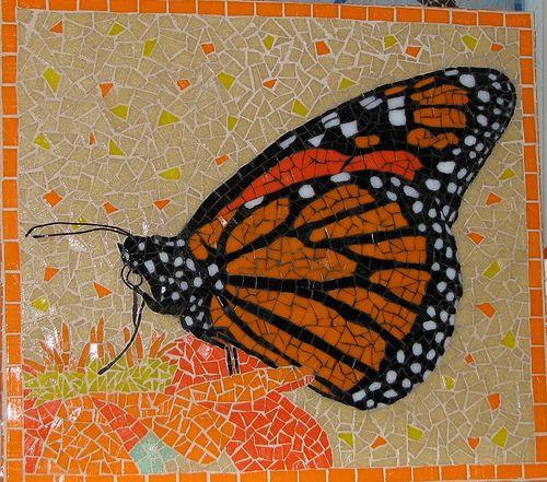 mosaic buterfly - Buscar con Google