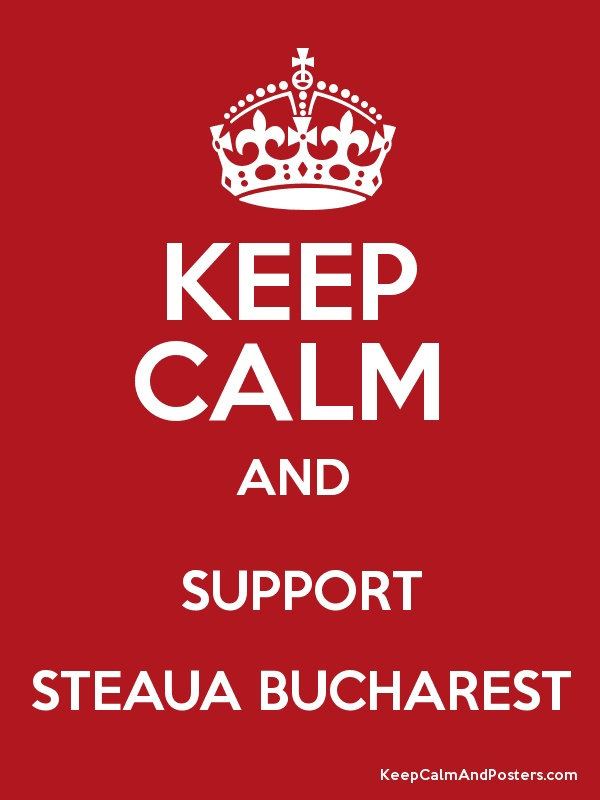 Go Steaua! Gooooo...