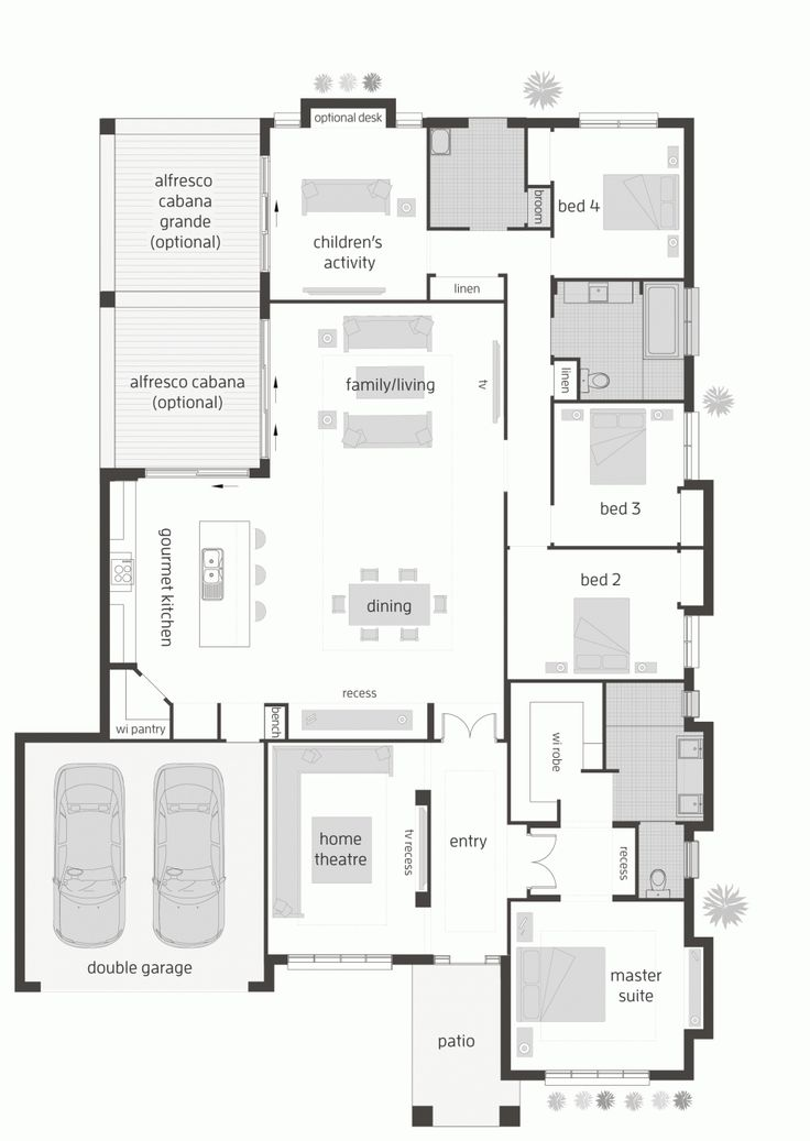 Floor plan LHS