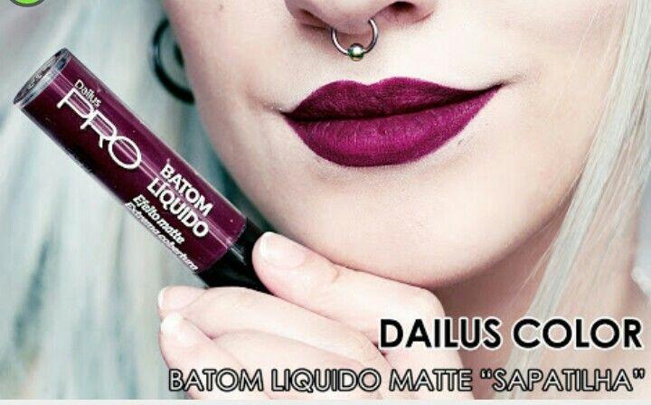 Batom líquido Matte Sapatilha Dailus Color