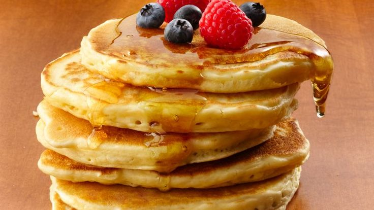 Greek yogurt is the secret ingredient behind these protein-packed pancakes that will energize your day in a sweet (and tasty) way.