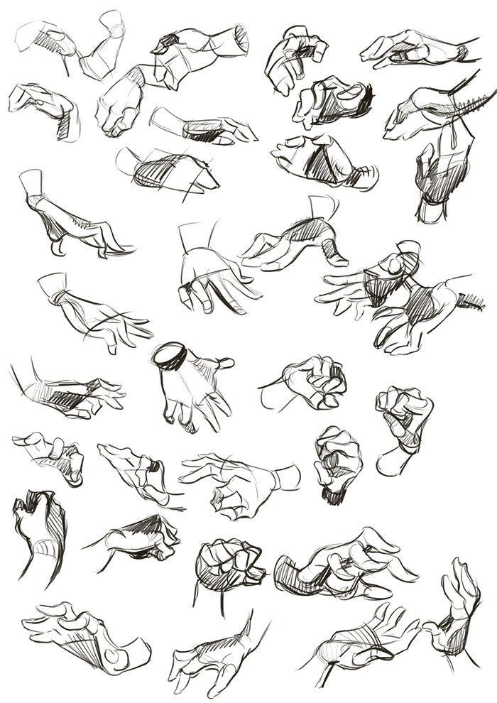 Part 2, Drawing people - Imgur Handen kunnen een emotie nog sterker overbrengen. Dit is te gebruiken bij een karakter animatie