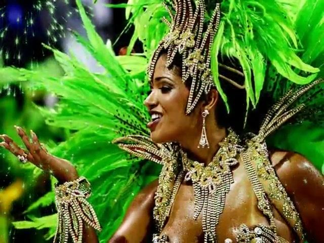 Carnival in Brazil, I will be there...and dressed to the nines, too!