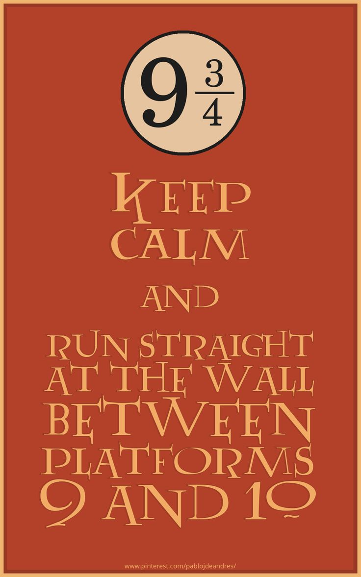 Keep Calm & Harry Potter