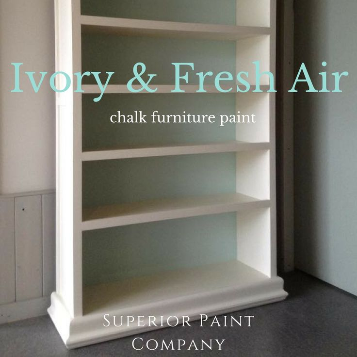 Ivory chalk painted cabinet by Superior Interiors Kelowna using Ivory and Fresh Air