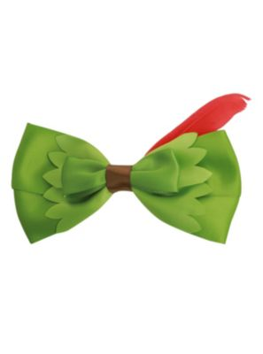 Disney Peter Pan Feather Hair Bow ~ cute bow to go with a Peter Pan shirt or a Tinkerbell shirt