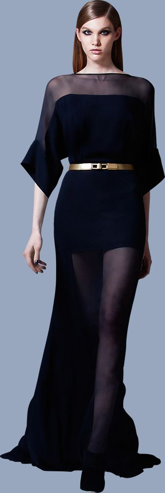 #ELIE SAAB Ready-to-Wear Pre-Fall 2013  maybe a tad longer, but u get the idea!