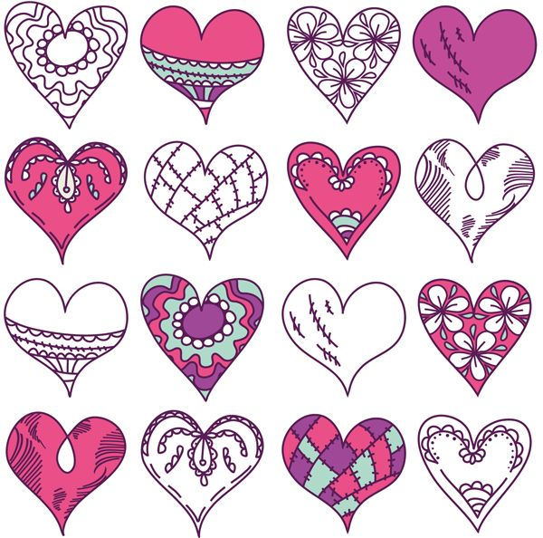 heart vector google search vector pinterest journaling and patterns vector image illustrator vector image definition