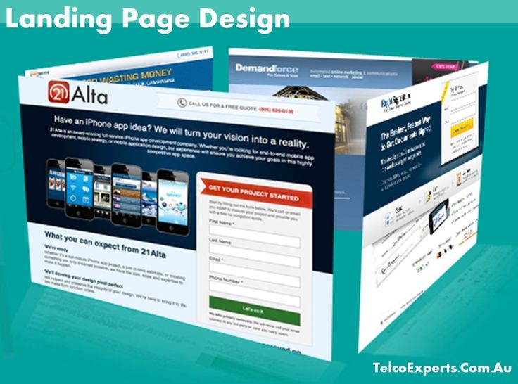 Want to capture more targeted leads? Then your #LandingPage #Design has to convey your message well.