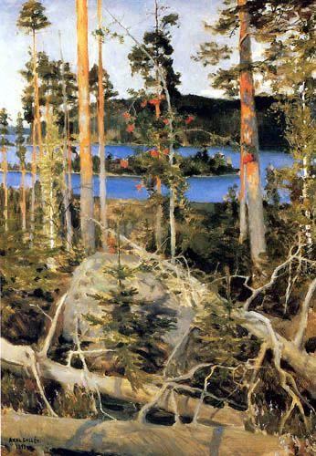 akseli gallen kallela. peintre finlandais