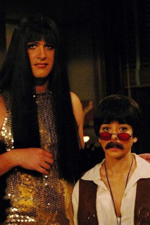 I want a love like Lily and Marshall's so it's totally okay to do cool Halloween costumes like this.