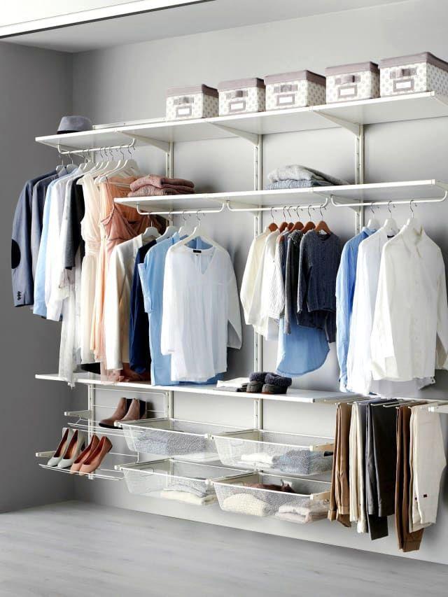 Unique Closet Shelving Systems Lowes Exclusive On Alexadecor Com Diy Closet System Best Closet Systems Ikea Closet System