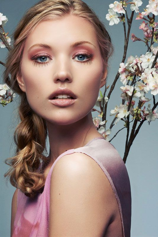 Cherry Blossom Girls – For his latest beauty shoot, photographer Jeff Tse gets inspired by cherry blossom season with a series of romantic images starring Nadia and Kris Z. The blonde models don makeup by Chifumi N and flower-adorned hair styles courtesy of Ryan Stone. / Styling by Josh Es, Production by Emily Bishop