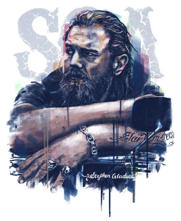 Opie Sons of Anarchy by StephenGladue.deviantart.com on @deviantART